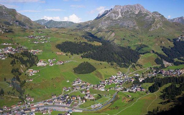Lechtalské údolí s kartou, Tyrolsko, autobusem, snídaně v ceně4