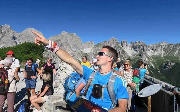 Svět křišťálových vodopádů (lanovky v ceně), Tyrolsko