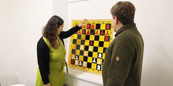 Šachový kurz pro 2 - 4 hráče | Praha | Celoročně – PO, ÚT, ČT, PÁ 8-14h a ST, SO, NE 8-20h. | 120 minut.3