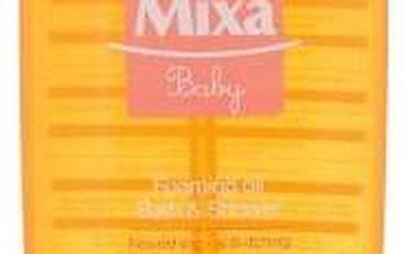 Mixa Baby 400 ml šetrný pěnivý olej pro mytí a posílení dětské pokožky pro děti