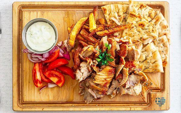 Vyzvedněte si řecké menu: gyros, pita i hranolky