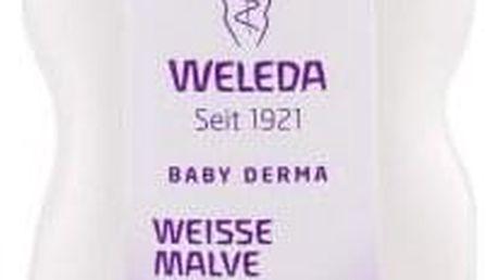 Weleda Baby Derma White Mallow 200 ml zklidňující mléko pro miminka s hypersenzitivní pokožkou pro děti