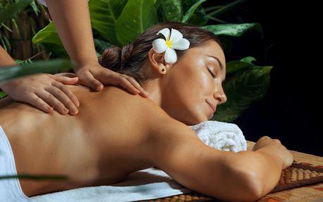 Jarní thajské pohlazení: hodinová masáž dle výběru