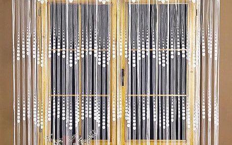 4Home provázková záclona EVITA, 300 x 160 cm