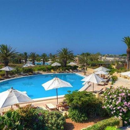 Malta - ostrov Gozo letecky na 8 dnů, snídaně v ceně