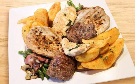 Degustační menu v restauraci Dynamo pro 1 nebo 2