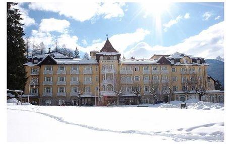 Itálie - Cortina d'Ampezzo na 8 dnů