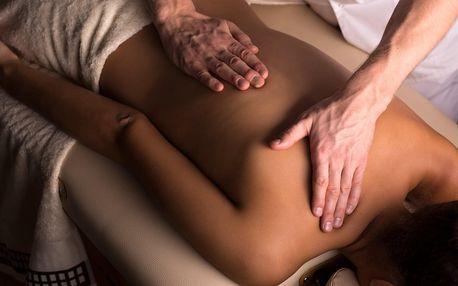 Relaxační masáž zad pro uvolnění svalstva