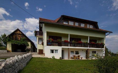 Chorvatsko - Plitvická jezera: House Josipa
