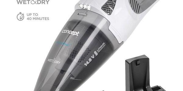 Concept VP4370 Ruční vysavač 14,8 V Wet a Dry Perfect Clean