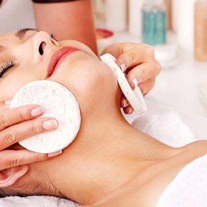 Kosmetické ošetření pleti a hloubkové čistění