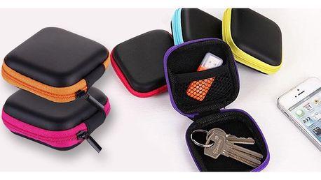 Malé organizéry na klíče, sluchátka i mince