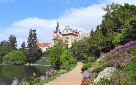 Romantické parky v květu, Střední Čechy