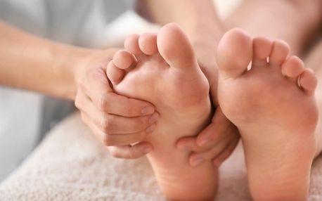 Úlevná masáž pro vbočený palec