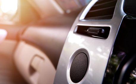 Ozonem na klimatizaci, interiér i ventilaci vozu