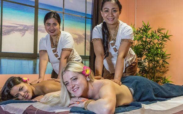 Thajská masáž, oxygenoterapie i sekt pro dva5