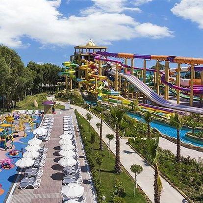 Turecko - Antalya letecky na 8-15 dnů, all inclusive