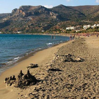 Řecko - Kréta letecky na 12 dnů