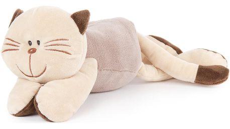 Boma Plyšová kočka ležící, 18 cm