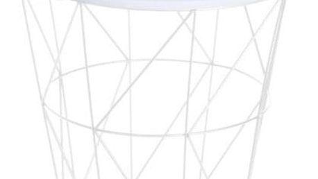 Příruční stolek Hatu, panda, 30 x 30 cm
