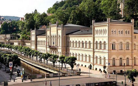 4* wellness pobyt v centru Karlových Varů se snídaní