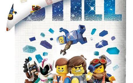 Halantex Dětské bavlněné povlečení Lego Awesome, 140 x 200 cm, 70 x 90 cm