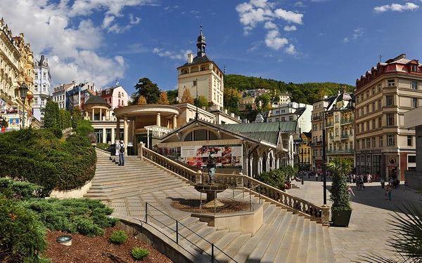 Poznávání Karlových Varů s polopenzí pro dva a hotel na kolonádě, Karlovy Vary, Art Deco Wolker, 2 osoby, 3 dny5