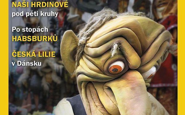 Roční předplatné časopisu Moje země + čísla z minulého roku4