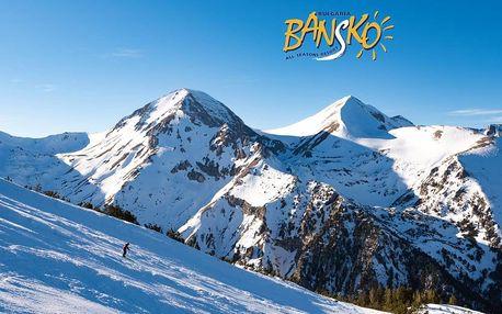 6denní zájezd se skipasem Bansko ski | Hotel Rothmans*** | V ceně doprava, ubytování, snídaně, skipas