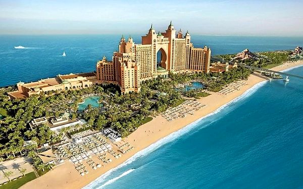 Hotel Atlantis The Palm, Dubaj, letecky, polopenze