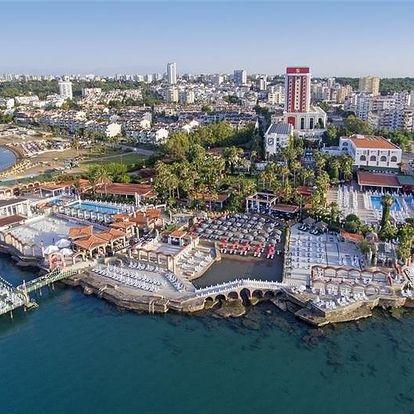Turecko - Antalya letecky na 8-15 dnů, ultra all inclusive