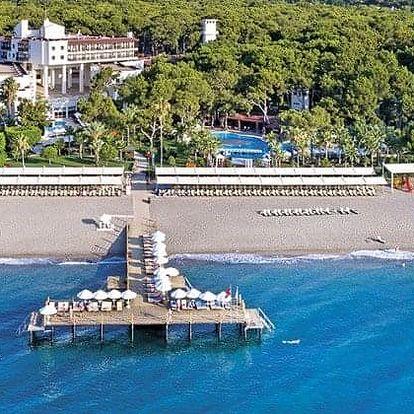 Turecko - Kemer letecky na 6-15 dnů, ultra all inclusive