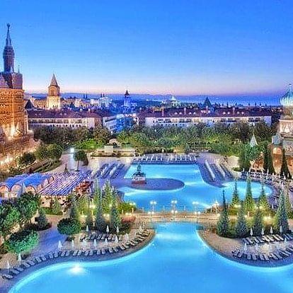 Turecko - Antalya letecky na 6-15 dnů, ultra all inclusive