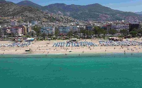 Turecko - Alanya letecky na 7-11 dnů, all inclusive