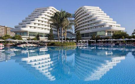 Turecko - Antalya letecky na 5-15 dnů, ultra all inclusive