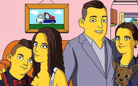 Vaše fotka překreslená do stylu animované rodinky