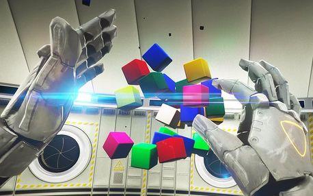 VR úniková hra ve VR play park