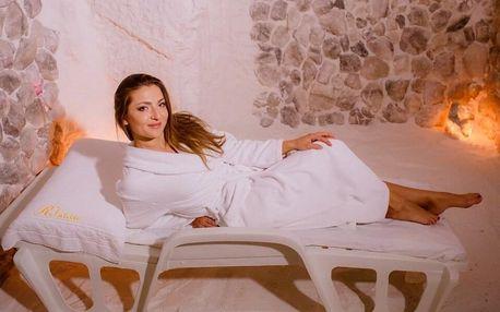 Relaxace v solné jeskyni pro 1 či 2 osoby