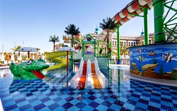 Crystal Sunset Luxury Resort & Spa, Side, Turecko, Side, letecky, ultra all inclusive2