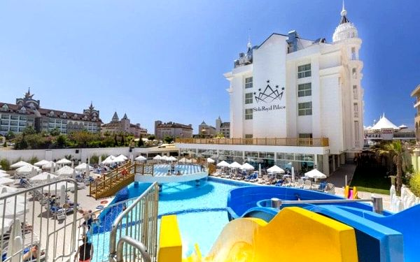 Side Royal Palace, Side, Turecko, Side, letecky, ultra all inclusive2