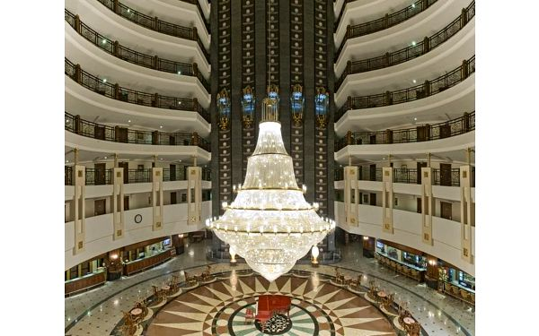Delphin Palace, Antalya, Turecko, Antalya, letecky, ultra all inclusive4