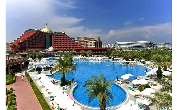 Delphin Palace, Antalya, Turecko, Antalya, letecky, ultra all inclusive5