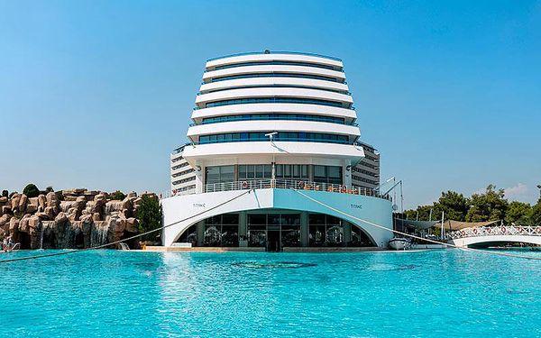 Titanic Beach Resort Hotel, Antalya, Turecko, Antalya, letecky, ultra all inclusive2