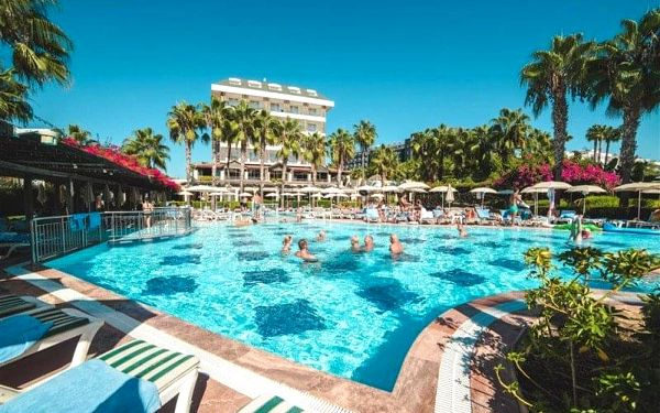 Trendy Palm Beach, Side, Turecko, Side, letecky, all inclusive5