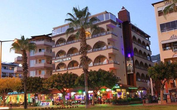 Hotel Wien Star, Alanya, Turecko, Alanya, letecky, polopenze5