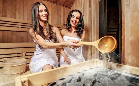 Vstup do saunového světa a tatarák pro 1 či 2 osoby