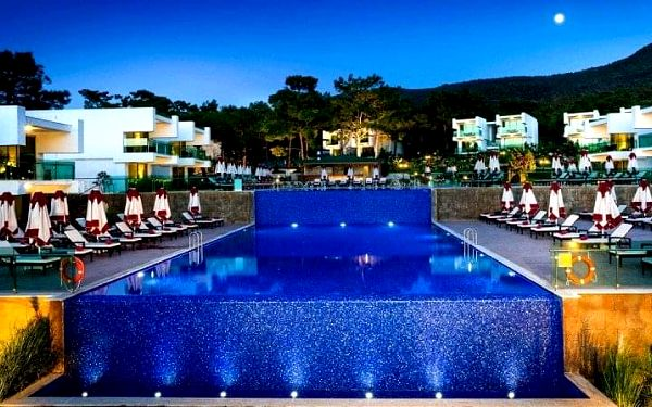 Vogue Hotel Bodrum, Bodrum, Turecko, Bodrum, letecky, ultra all inclusive5