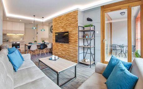 Na dovolenou do Gdaňsku: moderní apartmány pro 4