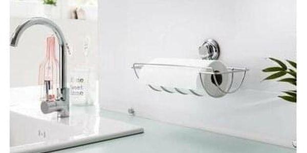Držák na kuchyňské role Compactor Bestlock - bez vrtání, nostnost až 6 kg, 33 x 17,3 x 14,53