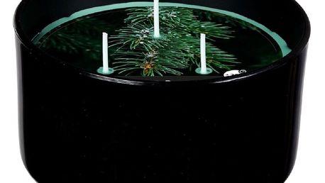 SPAAS Svíčka ve skle 3 knoty Lesní vánek, 13,8 x 7,3 cm